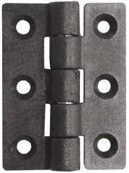 Nylon Butt Hinge - Black 75mm