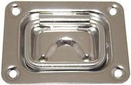 Flush Pull 76 x 57mm S/S