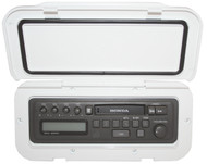 CD/Radio WProof Hatch White