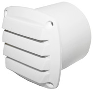 Vent -White Nyl 75mm Hose