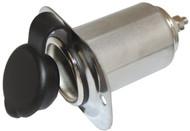 Cig Power Socket S/S 12v
