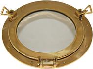 "Mirror Brass Porthole 12"""""""""