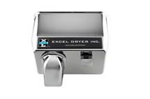 Surface Mounted - Chrome Plated - Hand & Hair Dryer (76-C)
