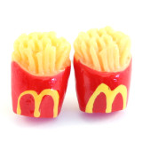 Funky Mini M Fries Stud Earrings