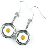 Funky Frying Pan Earrings