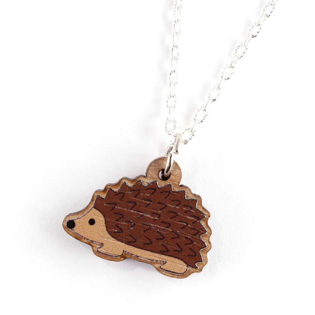 Funky Hedgehog Necklace
