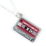 Funky Love Mix Tape Necklace