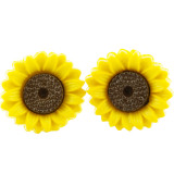 WILD SUNFLOWER Stud Earrings
