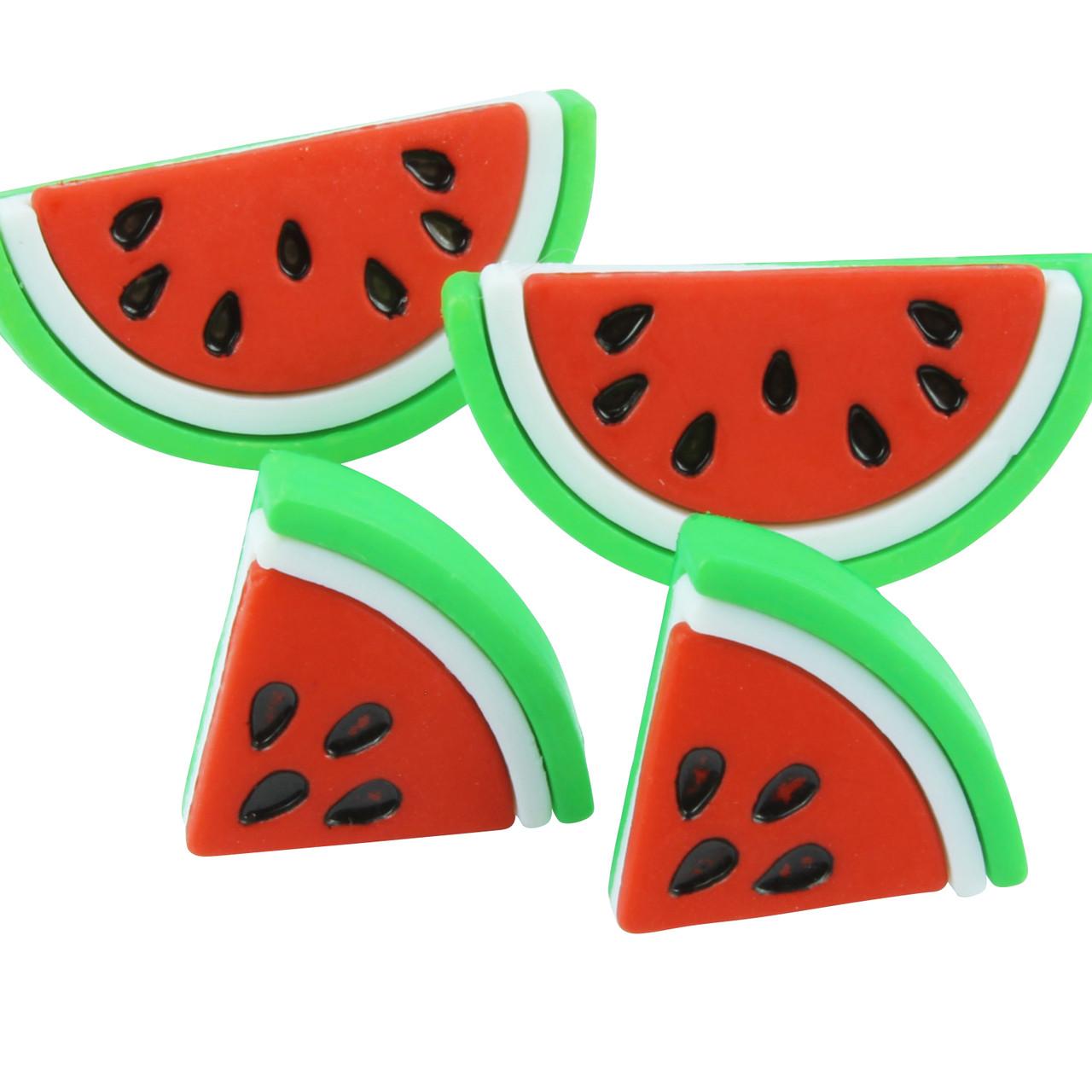 Funky Tropical Watermelon Earrings
