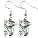 KOALA BEAR Dangle Earrings