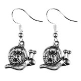 SNAIL TRAIL Dangle Earrings