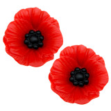 POPPY DAY 22mm Stud Earrings