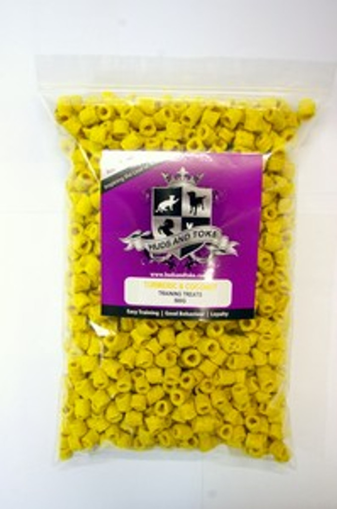 Coconut and Turmeric Horse Treats with added Black Pepper 1kg - By Huds and Toke.  The Original Australian Horse Treat Company