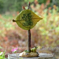 fairy garden signs - Garden Accessories