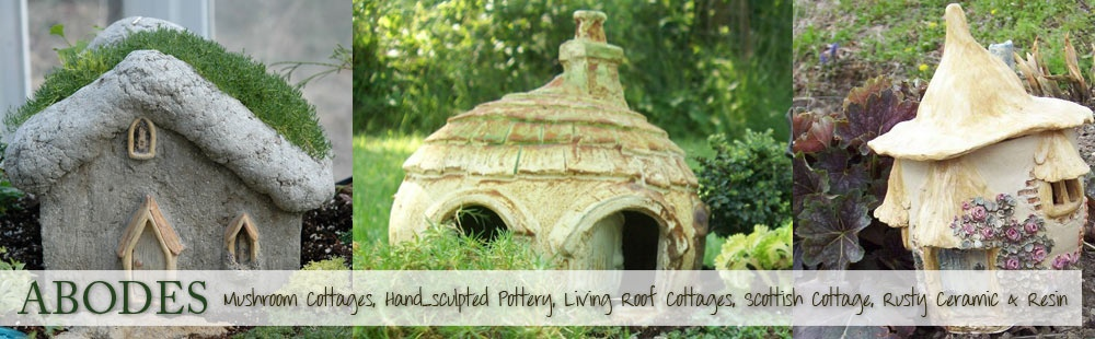 Keep Your Fairy Garden Residents Happy And Visitors Charmed With Our Extensive Collection Of Houses Cottages From Handsculpted Pottery To