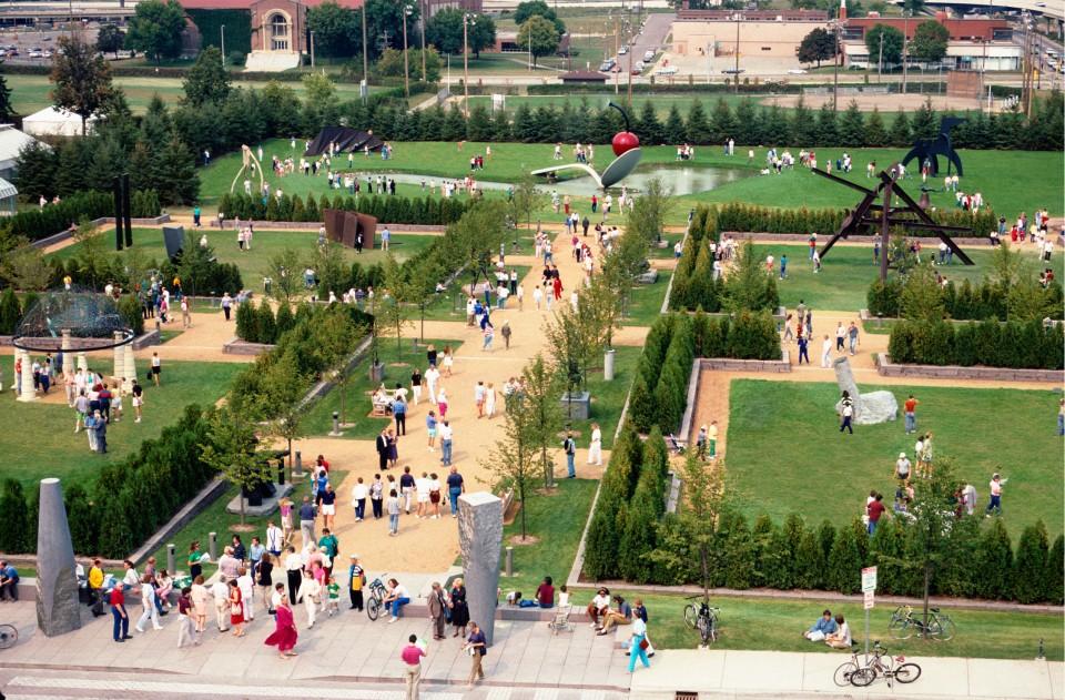 minneapolis sculpture garden usa
