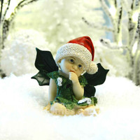 Shy Christmas Fairy Baby