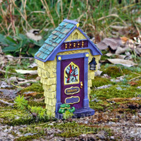 """Ashbury"" Solar Fairy Door"