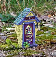 """Ashbury"" Solar Fairy Door"
