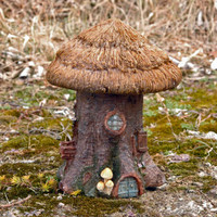 Thatched Roof Fairy Cottage