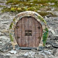 Miniature Enchanted Pixie Door