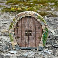 Miniature Enchanted Pixie Door