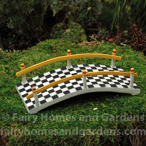 Miniature Checkered Bridge