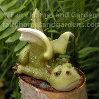 Miniature Lazy Dragon Collectible