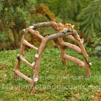 Miniature Fairy Garden Arbor with Birds