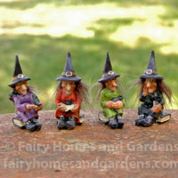 Miniature Witchy Women - Set of 4