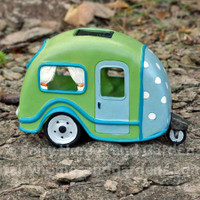 Polka Dot Fairy Travel Trailer