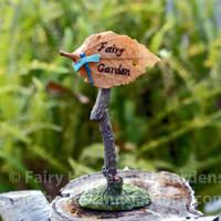 Miniature Fairy Garden Sign