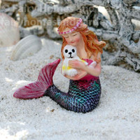 Miniature Mermaid with Seal Pup
