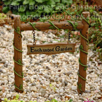 Enchanted Fairy Garden Archway