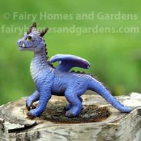 Miniature Purple Dragon