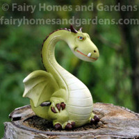 Miniature Top Collection Green Dragon