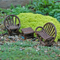 Miniature Appalachian Bench Set
