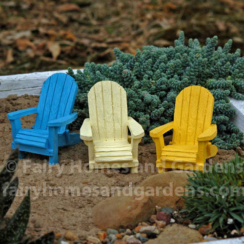 Miniature Beach Adirondack Chair