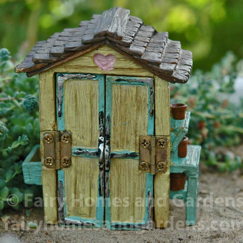 Captivating Miniature Fairy Garden Shed
