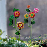 Miniature Flowering Vine Picks
