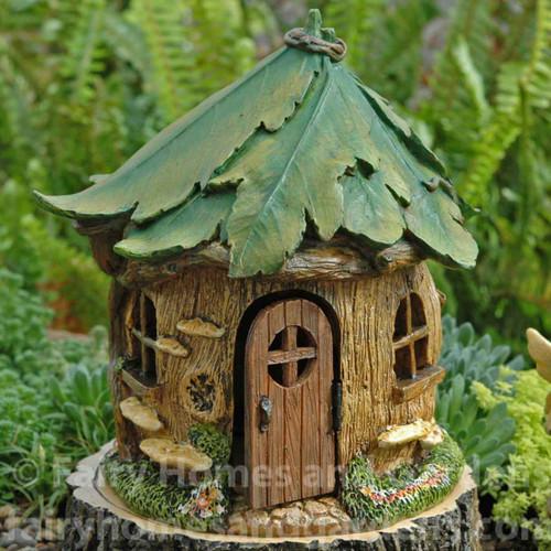 A Woodland Knoll Fairy Forest House