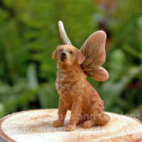 Golden Retriever Fairy Dog