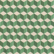 ESCHER GREEN CEMENT TILES