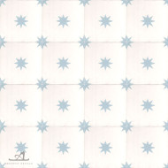 STARS BABY BLUE CEMENT TILES