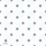 STARS DARK BLUE CEMENT TILES