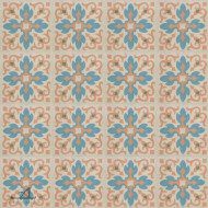 BAROQUE BEIGE CEMENT TILES