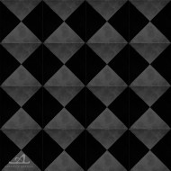 CHECKERS GREY CEMENT TILES
