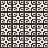 CHINOISE BLACK CEMENT TILES
