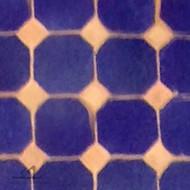 "CORA CAB (1"") BLUE MOSAIC TILES"