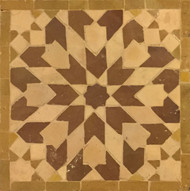 GRAND ANKABOUTI BROWN MOSAIC TILE